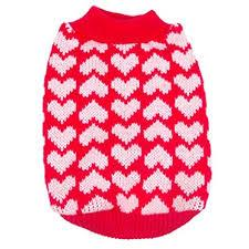 Red and Pink Heart Sweater - Lucky Paws Boutique