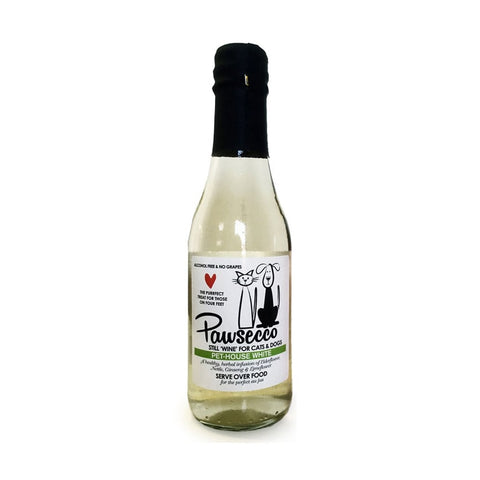 White Pawsecco - Lucky Paws Boutique