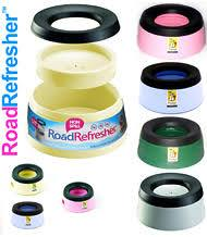 Road Refresher Bowl - Lucky Paws Boutique
