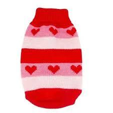 Striped Heart Jumper - Lucky Paws Boutique