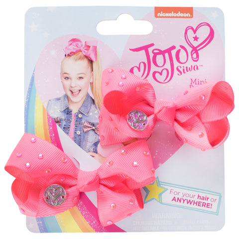 JoJo Siwa Mini Bows - 2 Pack