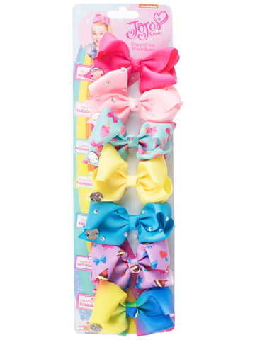 JoJo Siwa Mini Bows - Pack of 7
