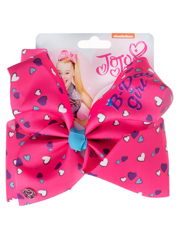 JoJo Siwa Birthday Bow - Hearts