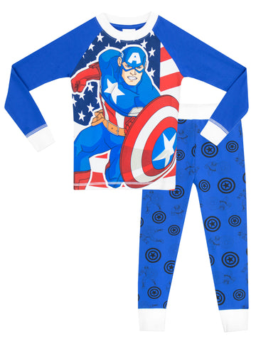 Captain America Pyjamas - Snuggle Fit
