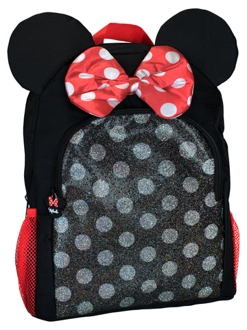 Minnie Mouse Backpack - 3D Ears
