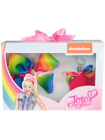 JoJo Siwa Bow and Keyring Set