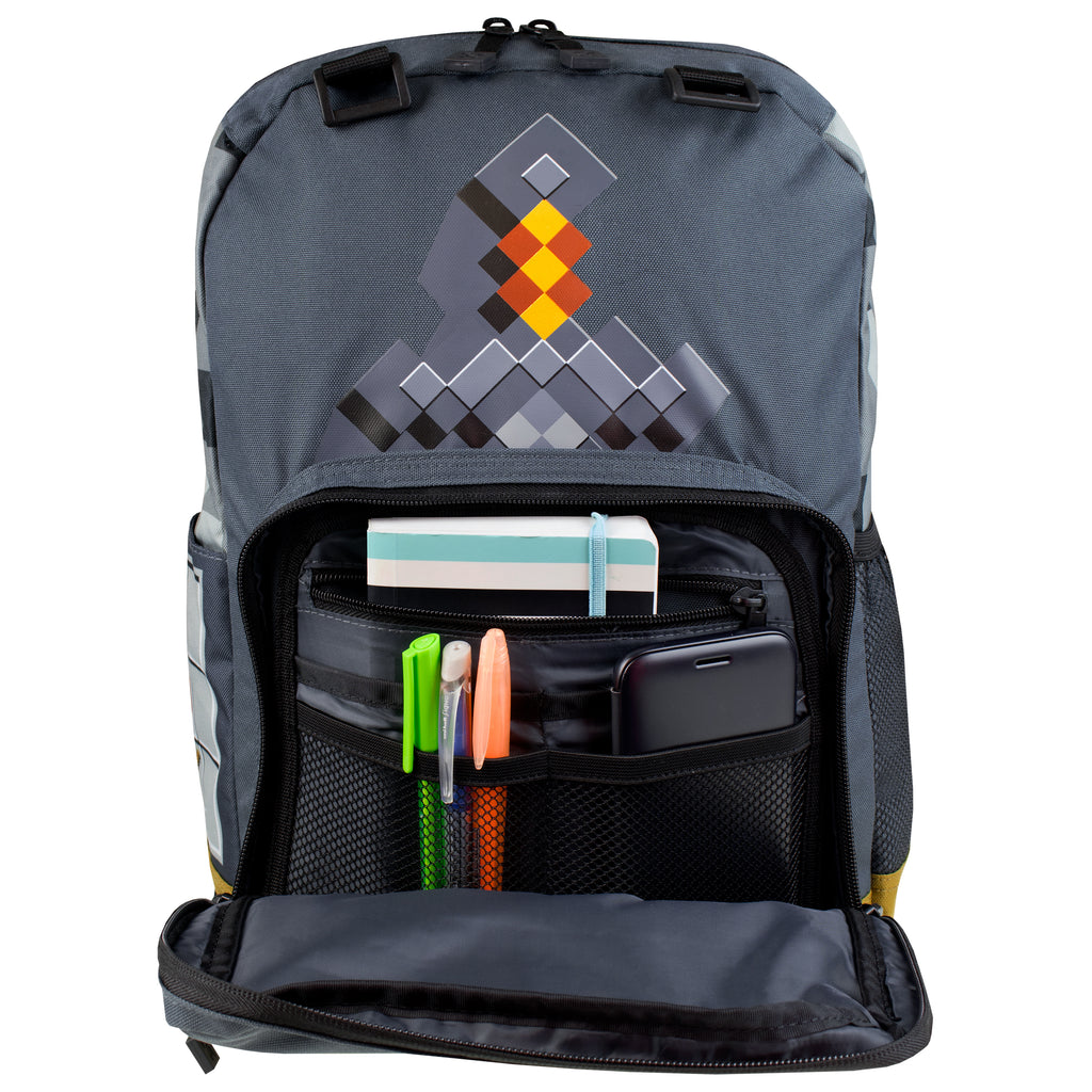 ff327b1845 Join us on Facebook. Like our Facebook page to access great exclusive  offers. Minecraft Backpack