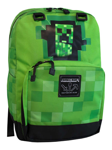 Minecraft Backpack - Creeper