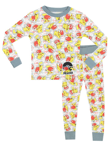 Pokemon Snuggle Fit Pyjamas - Pikachu