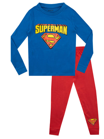 Superman Snuggle Fit Pyjamas