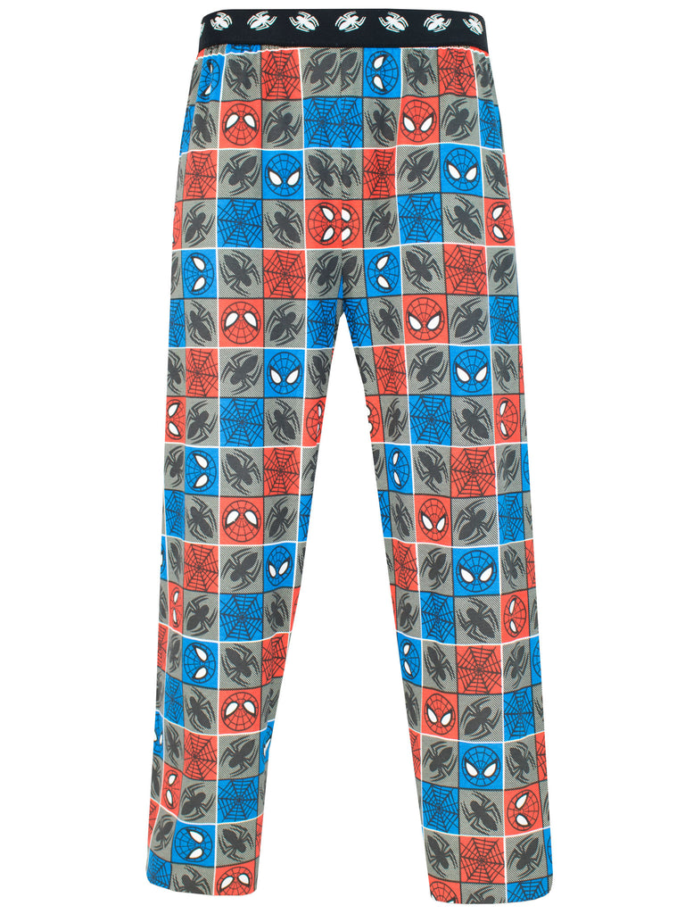 Mens Spiderman Lounge Pants