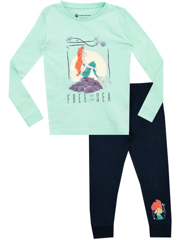 Disney The Little Mermaid Pyjamas - Snuggle Fit