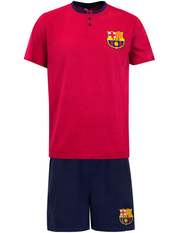 Mens Barcelona Short Pyjamas