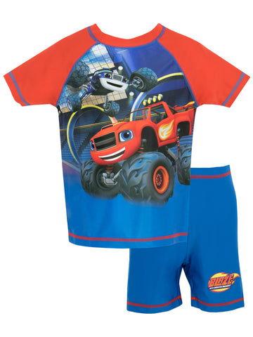Blaze & the Monster Machines Two Piece Swim Set