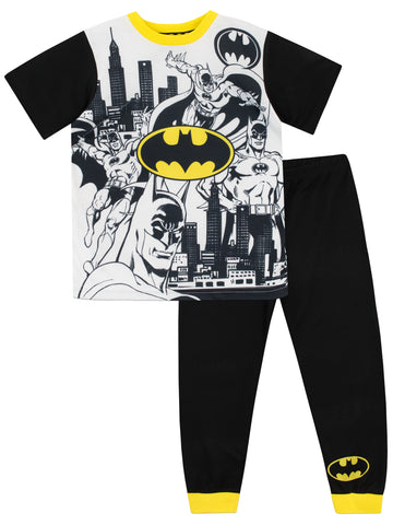 Batman Short Sleeved Pyjamas