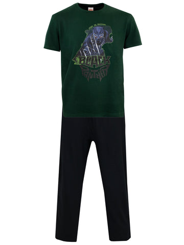 Mens Black Panther Pyjamas