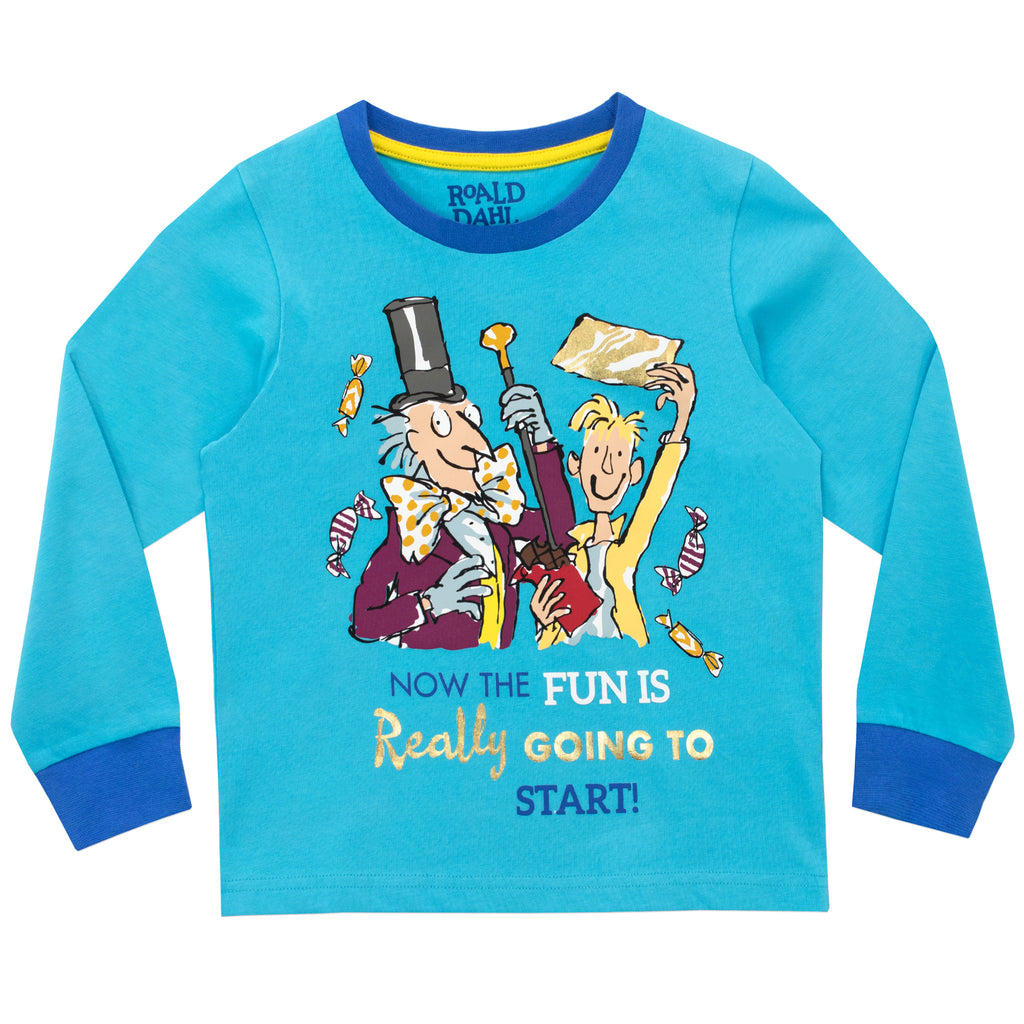 704d9b5f Buy Charlie and The Chocolate Factory Pyjamas I Character.com ...