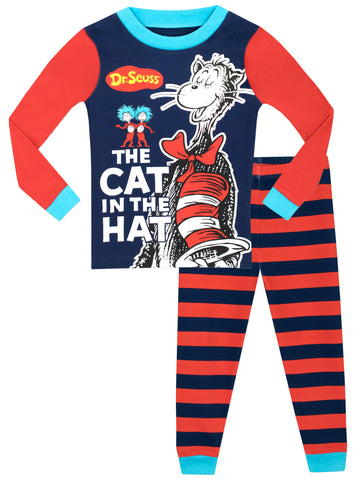 The Cat in the Hat Snuggle Fit Pyjamas