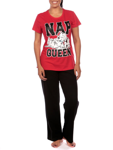 Ladies 101 Dalmatians Pyjamas
