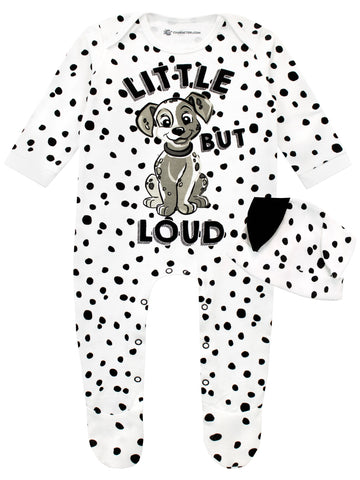 Baby 101 Dalmatians Sleepsuit and Hat