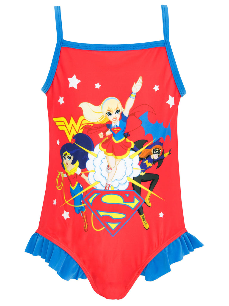 Buy Girls DC Superheroes Swimsuit