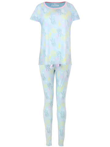 Womens Disney Frozen Pyjama Set