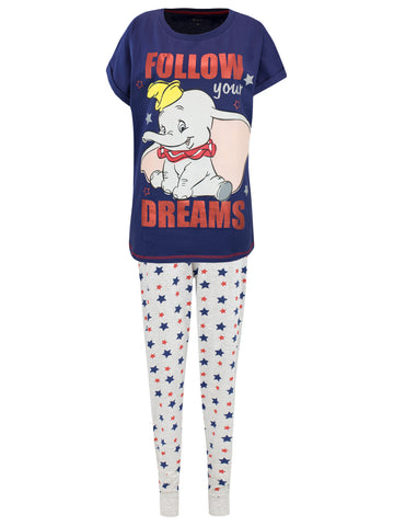 Womens Dumbo Pyjamas