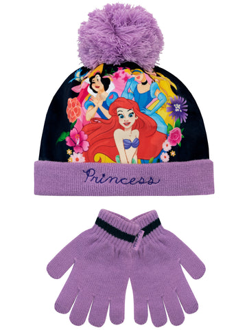 Disney Princess Hat and Gloves Set