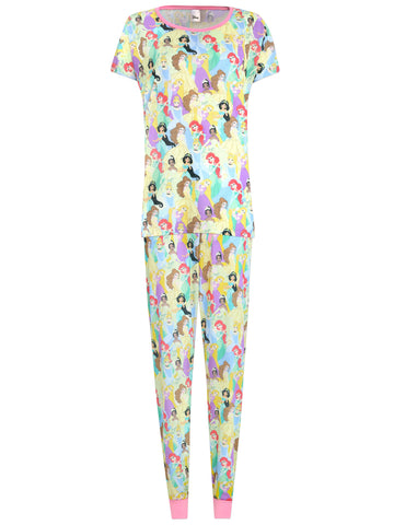 Womens Disney Princess Pyjama Set