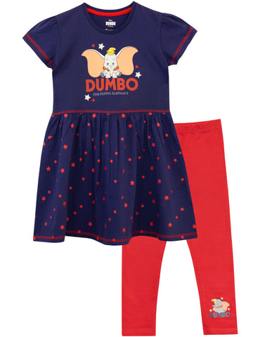 Disney Dumbo Dress & Leggings Set
