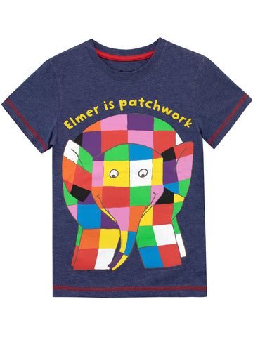 Elmer the Patchwork Elephant Tee