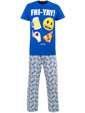 Mens Emoji Pyjamas