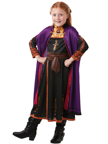 Disney Frozen Anna Fancy Dress with Braid Set