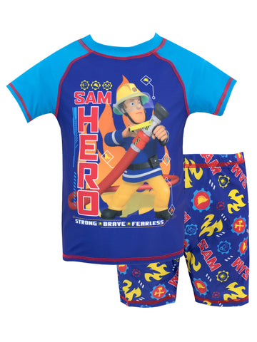 Fireman Sam Two Piece Swim Set