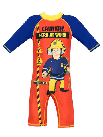 Fireman Sam Sunsafe Swimsuit