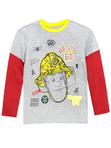 Fireman Sam Long Sleeve Top