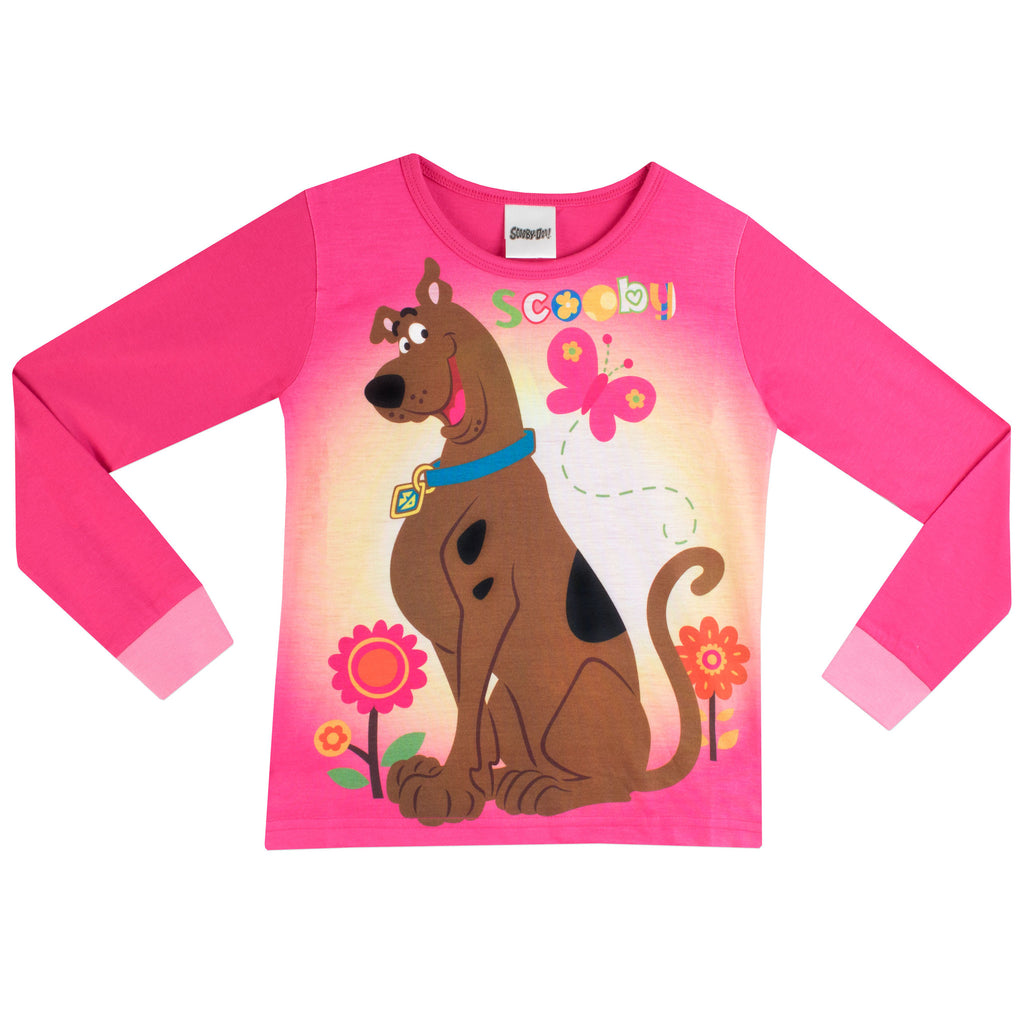 ccb6aed23c Pink Scooby Doo Pyjamas - Officially licensed for Character.com