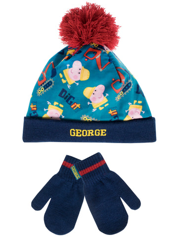 George Pig Winter Set
