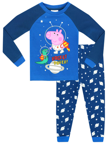 George Pig Glow in the Dark Pyjamas - Snuggle Fit
