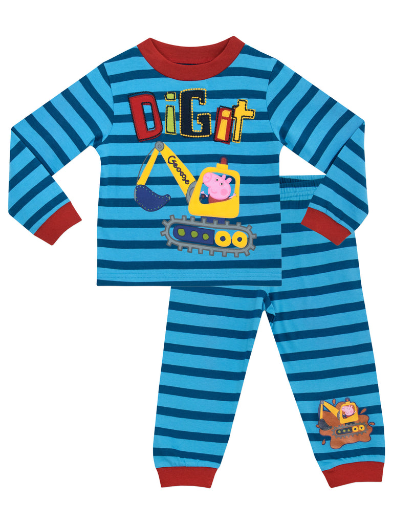 Boys George Pig Pyjama Set