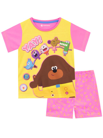 Hey Duggee Short Pyjamas - Duggee and the Squirrel Club