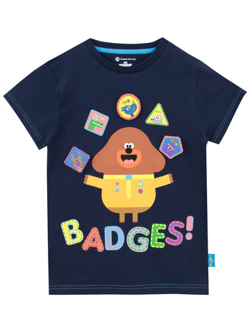 Hey Duggee T-Shirt - Badges