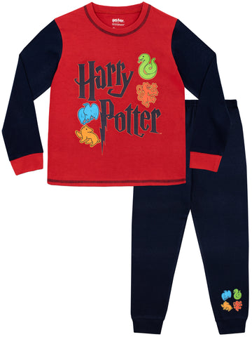 Harry Potter Pyjama Set - Hogwarts