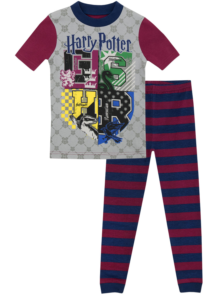 shop boys harry potter pyjamas official merchandise. Black Bedroom Furniture Sets. Home Design Ideas