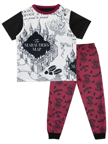 Harry Potter Pyjamas - Marauders Map
