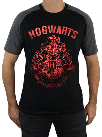 Mens Harry Potter T-Shirt - Hogwarts
