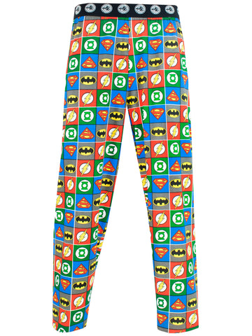 Mens DC Comics Lounge Pants - Justice League