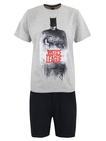 Mens Justice League Short Pyjamas