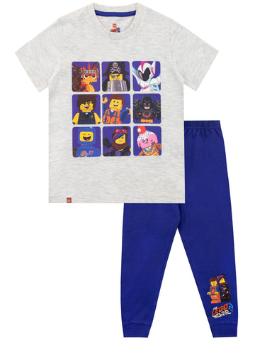 Lego Movie Pyjama Set - Emmet and Rex Dangervest