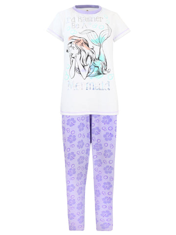Womens The Little Mermaid Pyjamas - Ariel